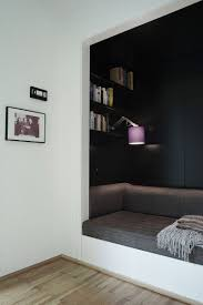 10 Reading Nooks Perfect For Curling Up In // Here's a dark nook that would