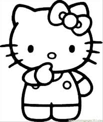Small Picture Kitty25 Coloring Page Free Hello Kitty Coloring Pages