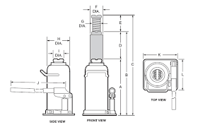 norco a   ton capacity standard bottle jackdiagram of a norco bottle jack