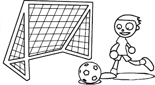 Soccer Coloring Pages Messi Free 5 Pictures To Color Page Sheet