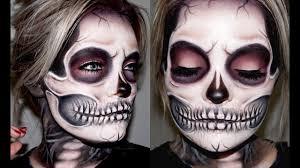 skeleton skull makeup tutorial brianna fox