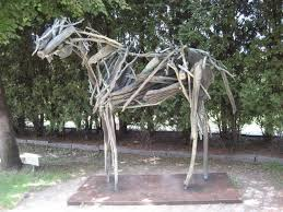 photo of walker art center minneapolis mn united states wooden horse sculpture