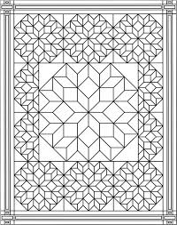 Christmas coloring pages for adults allow everyone to get in on the holiday activities. Quilt Blocks Coloring Pages To Print Coloring Pages Kids