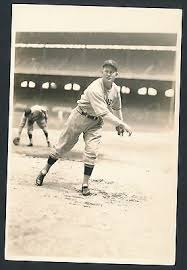 "1930's PAUL ""IVY"" ANDREWS Yankees Vintage Baseball Photo by GEORGE BURKE 