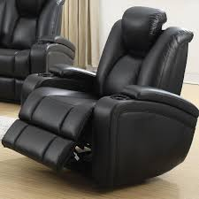 recliner with cup holder and storage. Interesting Recliner Delange Power Motion Collection Recliner With Storage Arms USB Ports  U0026 Illuminated Cup Holders On With Holder And O