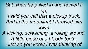 Kings Of Leon - Pickup Truck Lyrics - YouTube