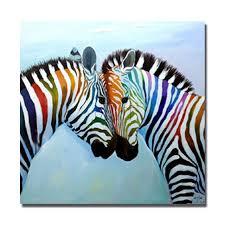 new style chinese zebra painting modern decor wall art living room decor pictures canvas art high