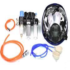 function air respirator air circulator mask chemical respirators for painting gas mask match air compressor full