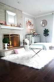 white faux sheepskin rug fake fur rugs flooring large area 5x8