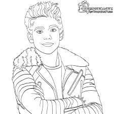 Descendants 2 Coloring Pages With Free Descendants Coloring Pages To