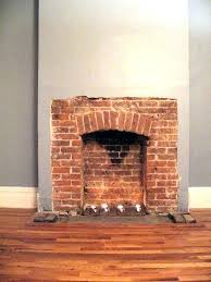 decoration brick fireplace surrounds ideas hearth on painted mantel images