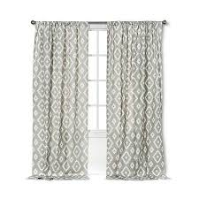 threshold farrah southwest curtain panel grey 25 liked on polyvore featuring home