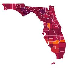Florida Coronavirus Map and Case Count ...