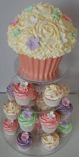 Cupcake Cake Ideas For Baby Shower With Designs Showers Plus