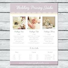 Photography Pricing Template Sale Magazine Template For Photographers Photography Templates