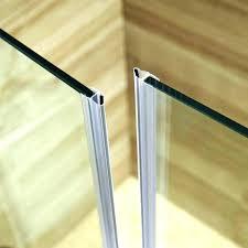 amusing sealing glass shower doors showers door seal waterproof how to replace bottom