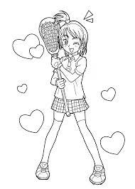 Manga Ideas Imposing Ideas Manga Coloring Pages Sakura Anime Manga For Girls