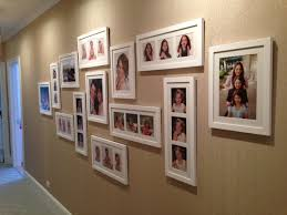 a recent example of an ilevel family photo wall