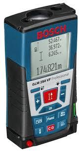 <b>Лазерный дальномер BOSCH GLM</b> 250 VF Professional — купить ...