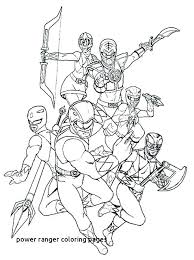 Power Rangers Coloring Page Trustbanksurinamecom