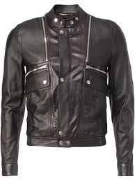 saint lau classic leather jacket men clothing yves saint lau cologne yves saint lau designer 100 satisfaction guarantee