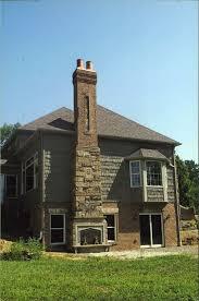 Fireplace Chimney For Outdoor Designs In Home Exterior Elegant Stone Near  Metal Door