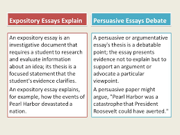 expository essays explain an expository essay is an investigative  1 expository essays