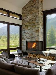 contemporary living room with corner fireplace. Corner Fireplace Ideas #fireplace (fireplace Ideas) Tags: Diy, Modern Contemporary Living Room With )