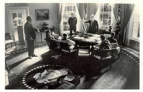 nixon office. Nixon And Kissinger Meeting Office N