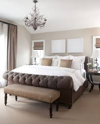 Traditional Bedroom Decor With Taupe Headboard Ideas From Denver - Traditional bedroom decor