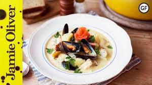 Irish seafood chowder recipe video ...