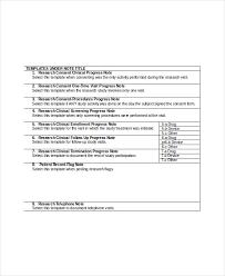 10 Progress Note Templates Pdf Doc Free Premium