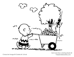 Small Picture charlie brown and snoopy christmas coloring page free pages