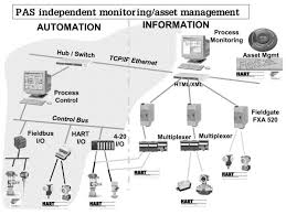 pas process automation system independent process monitoring and as shown in the diagram below both process monitoring and remote servicing asset management of field devices can be addressed on a standard tcp ip network