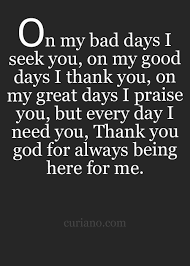 Thank God Quotes