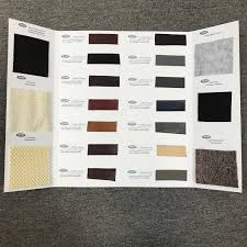 Faux Color Chart Bond Faux Leather Binding Rug Backing Chart