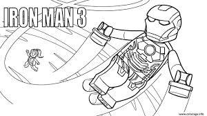 Coloriage Lego Marvel Iron Man 3 Jecolorie Com