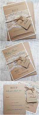 Burlap And Lace Wedding Invitations 15 Rustic Wedding Invitations From Etsy Rustic Wedding Ideas
