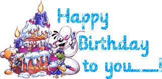 Animated Gifs Happy Birthday Cake Balloons Clowns