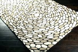 pine cone forest border rustic cabin lodge area rug 5 sizes 2 rounds rusticcabinlodge rugs
