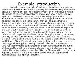 good introduction essay examples co good introduction essay examples