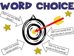 Word Choice Lessons Tes Teach