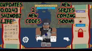 Along with the codes find the process of redeeming them. Roblox Shinobi Life 2 Codes The Millennial Mirror