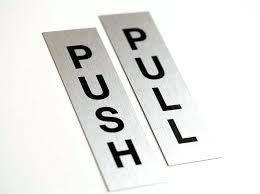 push pull storm door latch signs for doors and office interiors push pull door