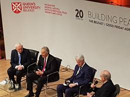 "Shane Finnegan on Twitter: ""Some panel @QUBEngagement #GFA20 @BillClinton ,Bertie,  Blair & Senator George Mitchell!… """