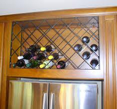 Cabinet Wine Rack Cabinet Insert Amazing Grays Diy Over Fridge