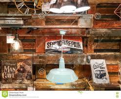 Vintage Lights For Sale Lights For Sale In Vintage Home Appliances Store Editorial