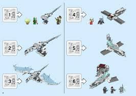 Building Instructions - LEGO 70678: Castle of the Forsaken Emperor - Book 1