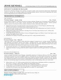 Warehouse Supervisor Resume Custom Warehouse Manager Resume Sample Luxury Warehouse Resume Examples