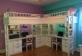 cool bunk beds with desk. Kids Bunk With Desk Amazing Underneath Made Dual Loft Beds Desks Twin Over Full Girls Double Cool